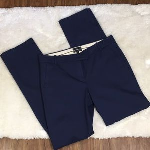 J. Crew Blue Campbell Trouser 12T